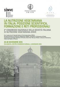 Dott.ssa La Marca - Convegno nutrizione vegetariana