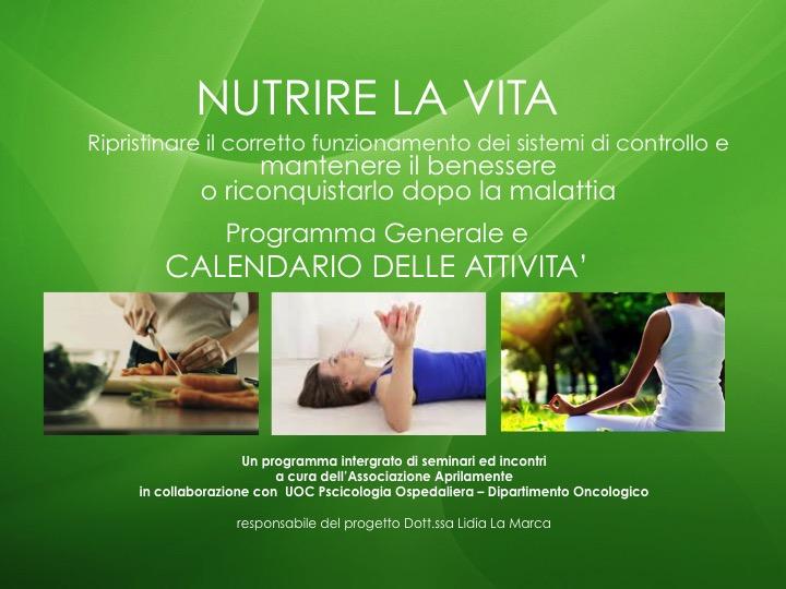 Nutrire la Vita | Il Programma