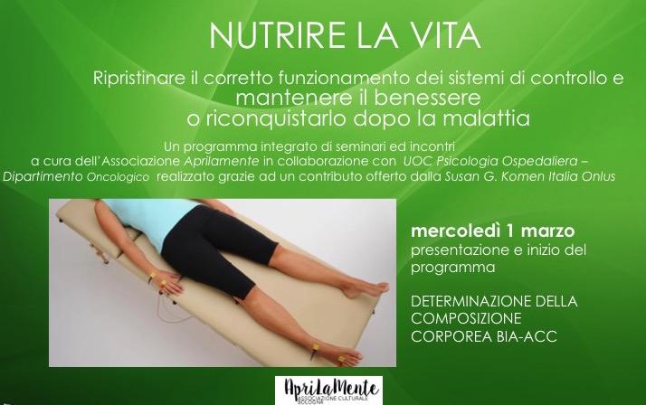 Nutrire la Vita - La determinazione della composizione corporea