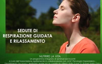 Sedute di respirazione guidata e rilassamento
