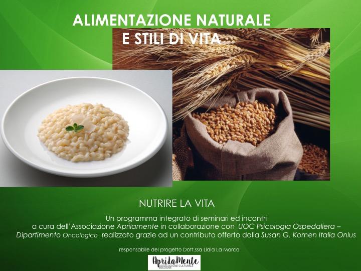 Alimentazione naturale e salute