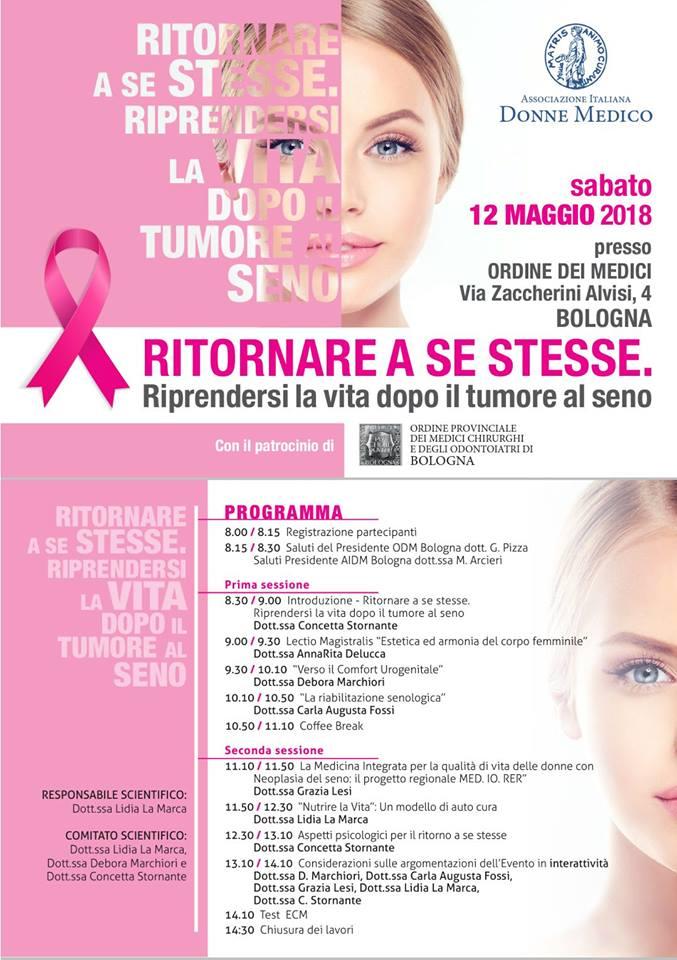 RITORNARE A SE STESSE Riprendersi la vita dopo il tumore al seno